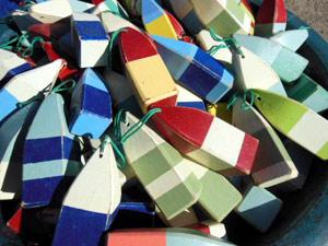 Mini Buoys, assorted colours