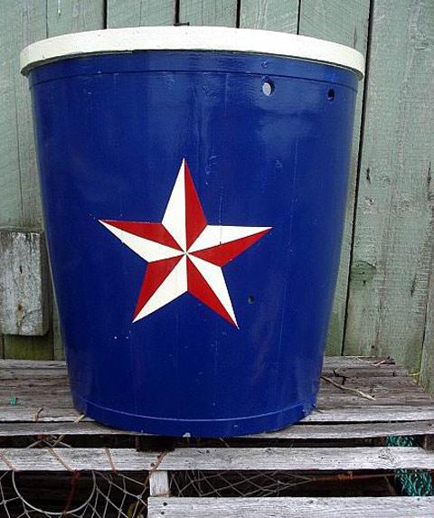Navy blue, red, white