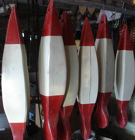 Our large fish buoys