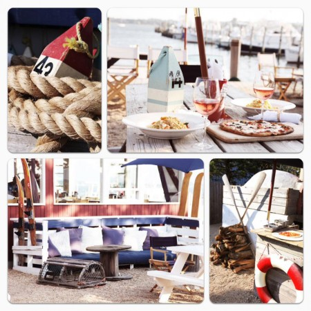 Collage of our products at Montauk NY