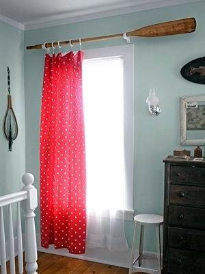 oar curtain rod