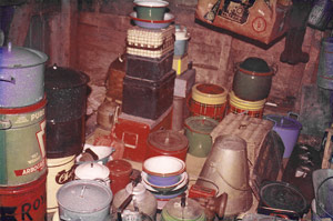 Assorted Camp Enamelware