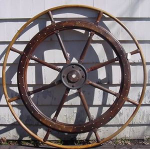 Six-foot Ship's Wheel