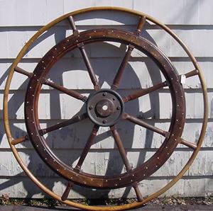 Six-foot Ship's Wheel