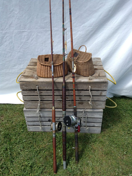 Rods and baskets